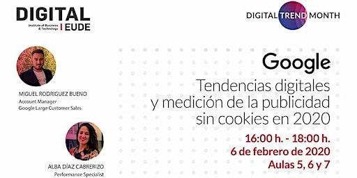 Seminario Google |  Tendencias digitales y medición de la publicidad sin cookies en 2020