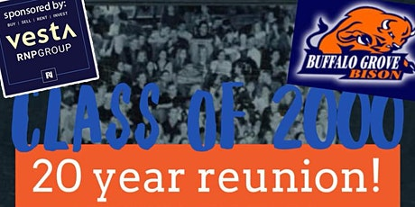 Buffalo Grove High School Class of 2000 - 20 Year Reunion! tickets