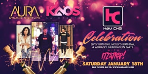 Ham Choi Celebration, Aura KAOS Saturdays ft....