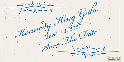 Orange County Democrats 2020 Kennedy King Gala