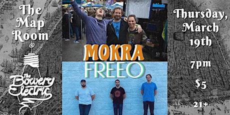 MOKRA and Freeo tickets