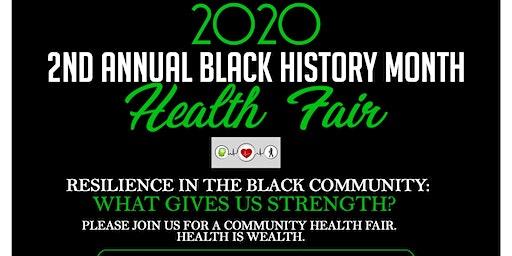 2nd Annual Black History Month Health Fair