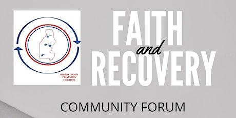 Benton County Faith & Recovery Forum tickets