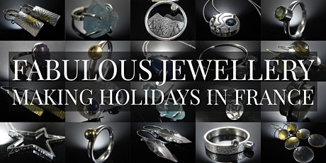 Silver Jewellery  Workshop 3 Days / 4 Nights Inc Accommodation in France billets