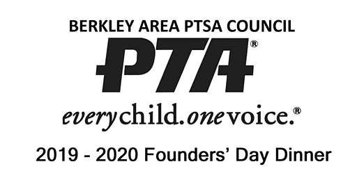 Berkley Area PTSA Council Founders' Day Dinner