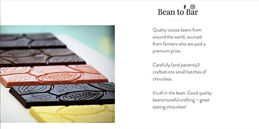 """BAKED BEANS - Bean to Bar Tasting with  """"Anisa & Chocolate"""""""