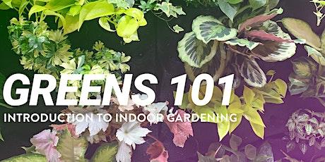 Greens 101–Introduction to Indoor Gardening tickets