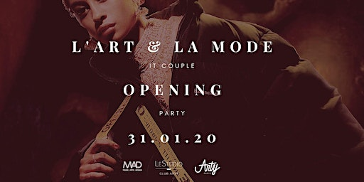 Vernissage  - Art & Mode, it couple