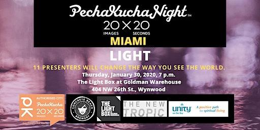 PechaKucha Night Miami Vol. 35 LIGHT