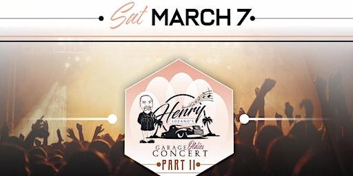 Henry Lozano Garage Oldies Concert part 2