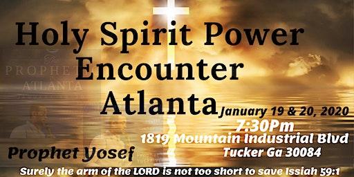 Healing Deliverance Prophetic Event in Atlanta
