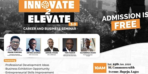 INNOVATE TO ELEVATE