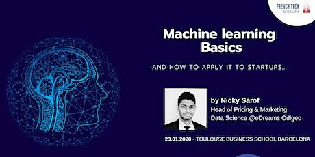 Basics of Machine Learning for Startups billets