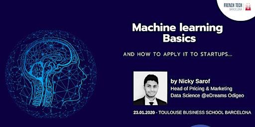 Basics of Machine Learning for Startups