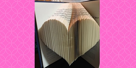 Learn to Book Fold a Heart | CRAFT/ART EVENT tickets