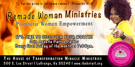 Remade Woman Prophetic Women Empowerment tickets