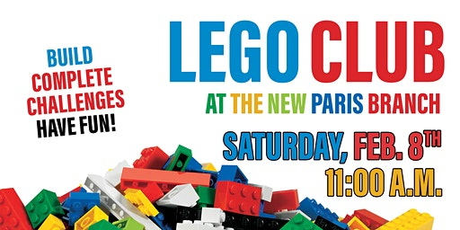 LEGO Club - New Paris Library
