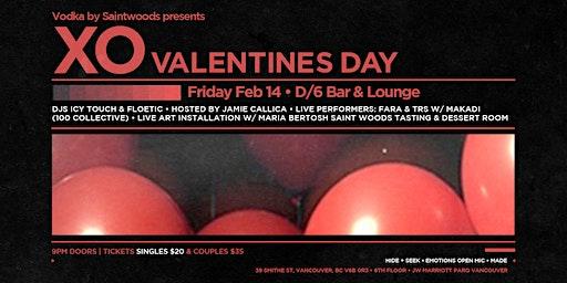 Vodka By SaintWoods presents XO Valentines Day