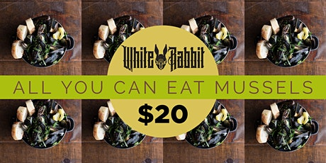 ALL YOU CAN EAT MUSSELS tickets