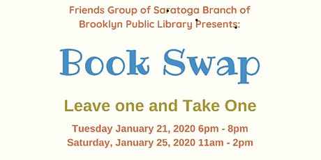 BOOK SWAP tickets