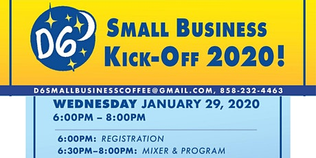 D6 Small Business Kickoff Of 2020 tickets