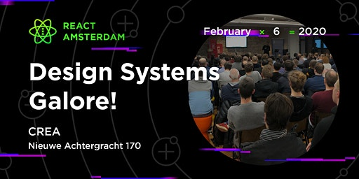 React Amsterdam Meetup: Design Systems Galore