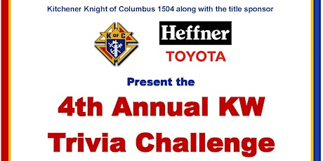 4th Annual KW Trivia Challenge tickets