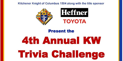 4th Annual KW Trivia Challenge