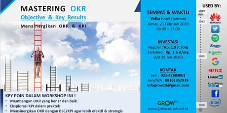 Batch 2, 1 day Workshop - Mastering OKR, and How to Synergize with KPI tickets