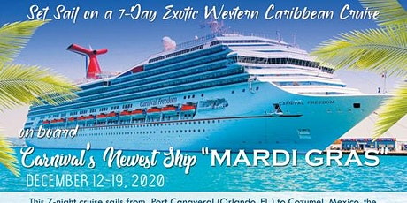 Mardi Gras Cruise on Carnival tickets