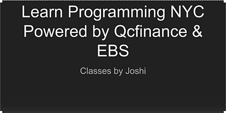 Intro to Python Programming (Intermediate Part-2 6+6 hours) tickets