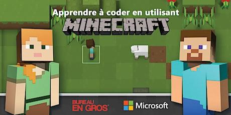 Minecraft – Heure de codage billets