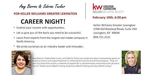 Keller Willams Greater Lexington Career Night