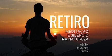 Retiro Anual de Meditação e Silêncio na Natureza - Mindfulness e Mindful Eating tickets