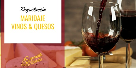 Degustación: Maridaje de Vinos y Quesos entradas