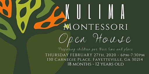 Kulima Montessori Open House