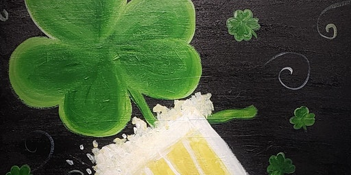 Celebrate St. Patty's day with Painting and Vino at River City Brewing Co!