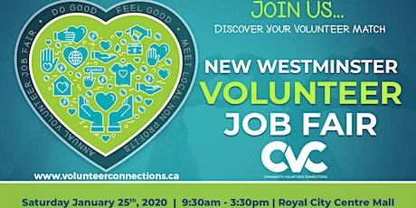 2020 New Westminster Volunteer Job Fair tickets