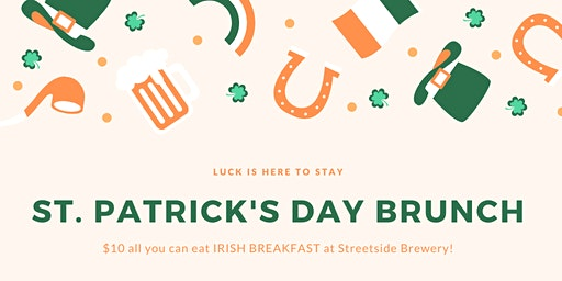 St. Patrick's Day IRISH BREAKFAST!