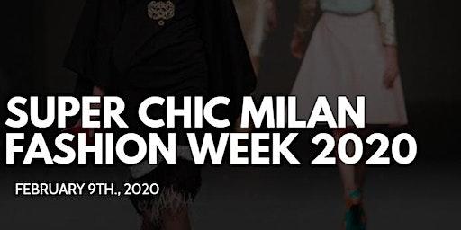 Media & Buyer's RSVP - Super Chic Milan Fashion Week 2020