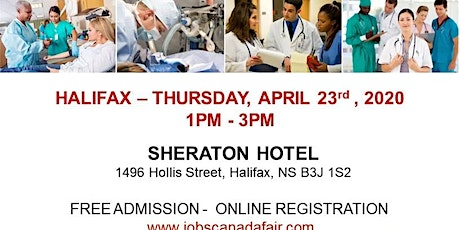 Halifax Healthcare Profession Job Fair - April 23rd, 2020  tickets