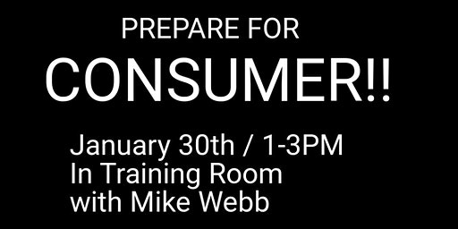 Prepare for Consumer with Mike Webb