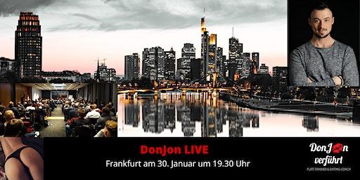 DonJon LIVE in Frankfurt