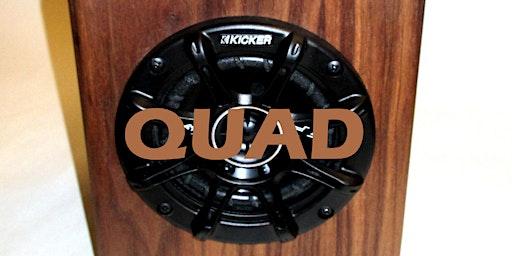 Quad Bluetooth Speaker Cabinet Series