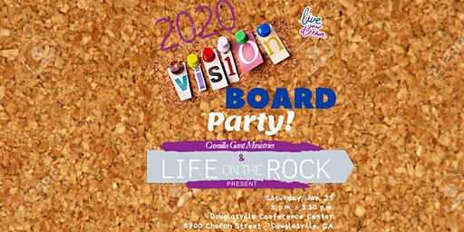 Life On The Rock 2020 Vision Board Party