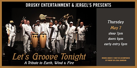 Let's Groove Tonight - A Tribute to Earth, Wind, & Fire tickets
