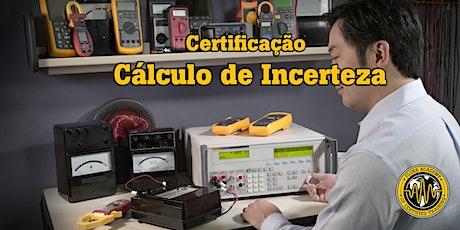 Certificação  de Cálculo de Incerteza ingressos