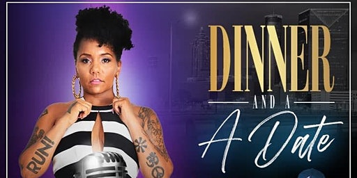 Dinner & A Date Poetry & Live Music Open Mic with  Queen Sheba & Dj Knodat