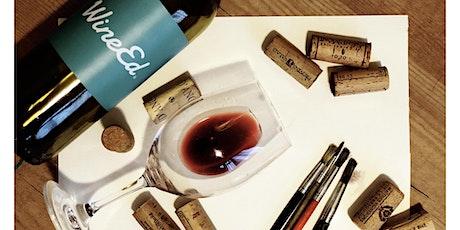 WineEd: Wine Tasting and Wine Painting Workshop tickets