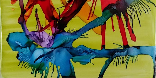 Alcohol Inks Workshops February